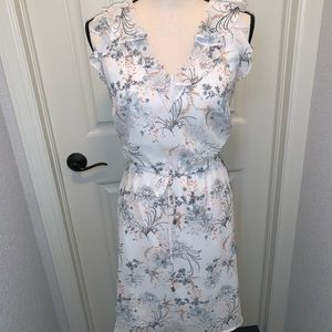 Maurices white floral dress